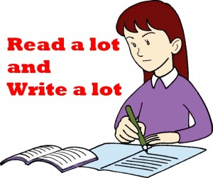 writing-girl w text